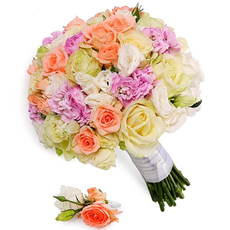 Свадебный букет невесты #9