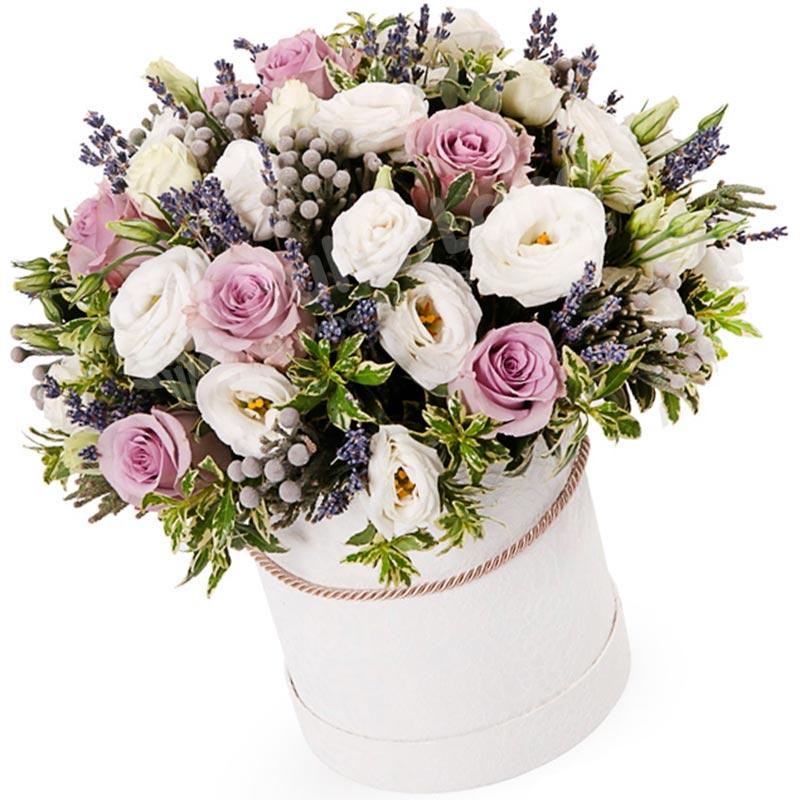 Цветы в коробке «Импрессионизм»