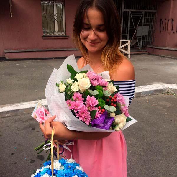 Букет цветов «Райское наслаждение»