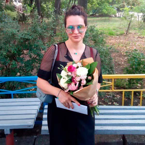 Букет цветов «Ласковое утро»