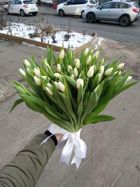 Фото доставки цветов Запорожье