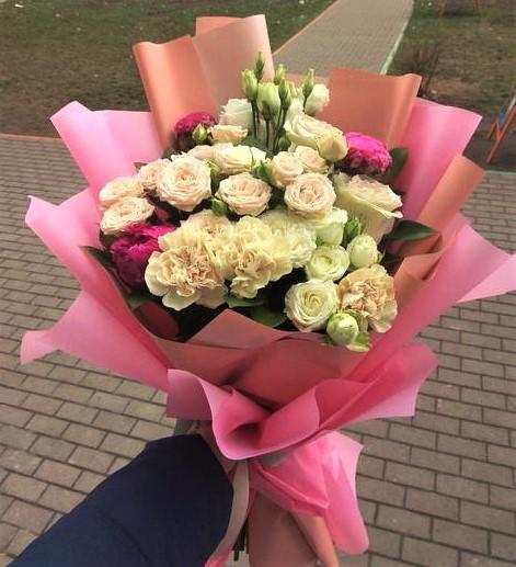 Фото доставка цветов Харьков