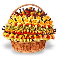 Букеты из фруктов | Купить подарок в Киеве