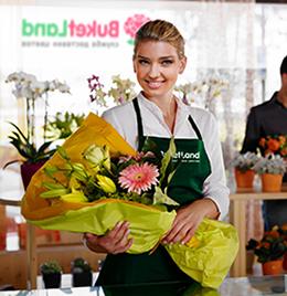 флорист доставки квітів BuketLand