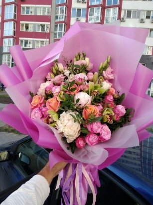 Фото доставки квітів Київ