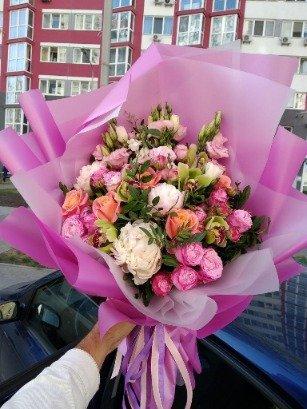 Photo flower delivery Kiev