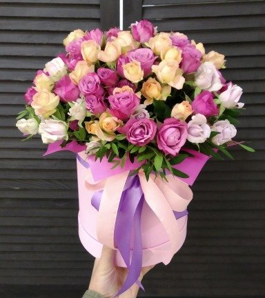 Фото доставки квітів в Києві